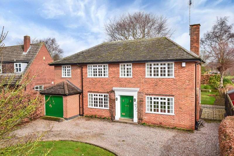 5 Bedrooms Detached House for sale in Repton, Derby, Derbyshire