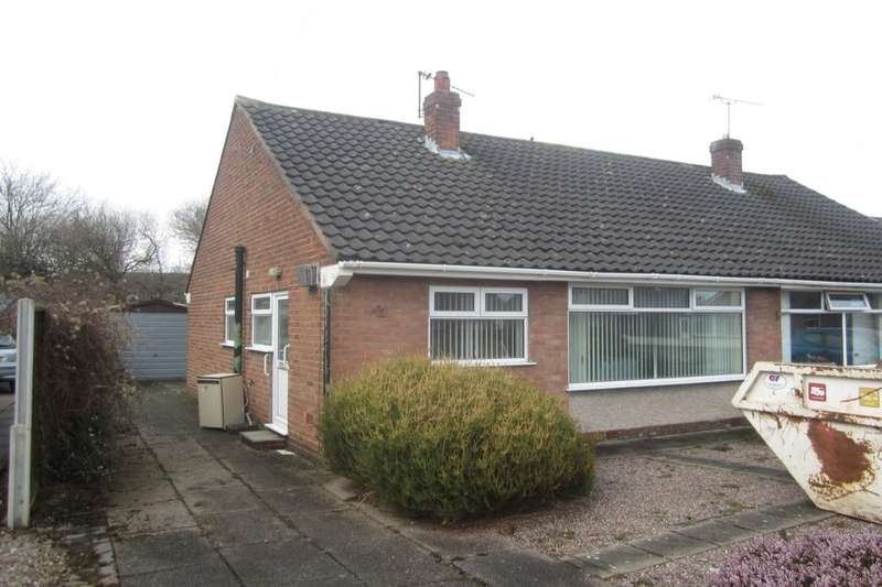 2 Bedrooms Semi Detached Bungalow for sale in Coleridge Way, Crewe, CW1