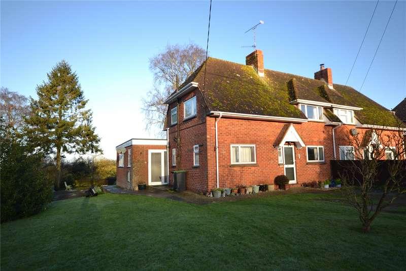 3 Bedrooms Semi Detached House for sale in Hillside, Melbury Abbas, Shaftesbury, Dorset, SP7
