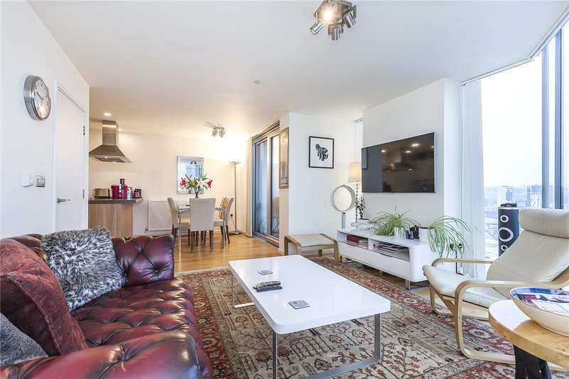 2 Bedrooms Flat for sale in Cavatina Point, 3 Dancers Way, London, SE8
