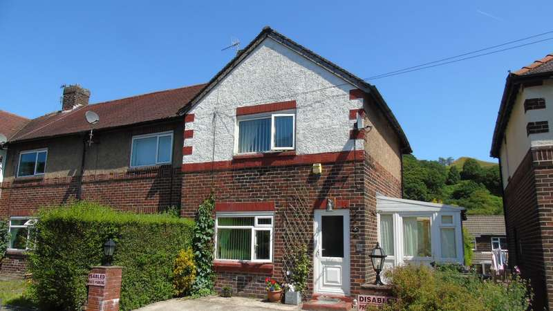 2 Bedrooms End Of Terrace House for sale in Sun Vale Avenue Walsden Todmorden