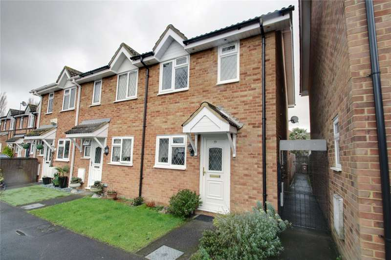 2 Bedrooms End Of Terrace House for rent in The Heathers, Stanwell, Surrey, TW19