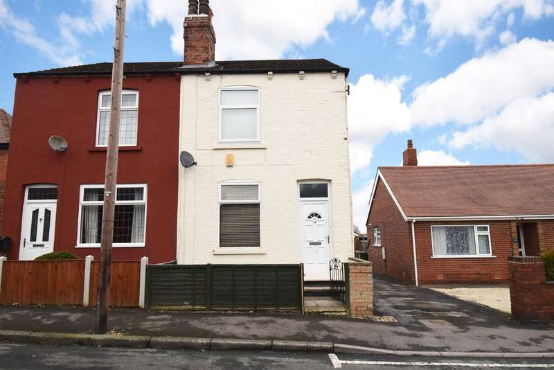 2 Bedrooms Semi Detached House for sale in Coach Road, Outwood, Wakefield