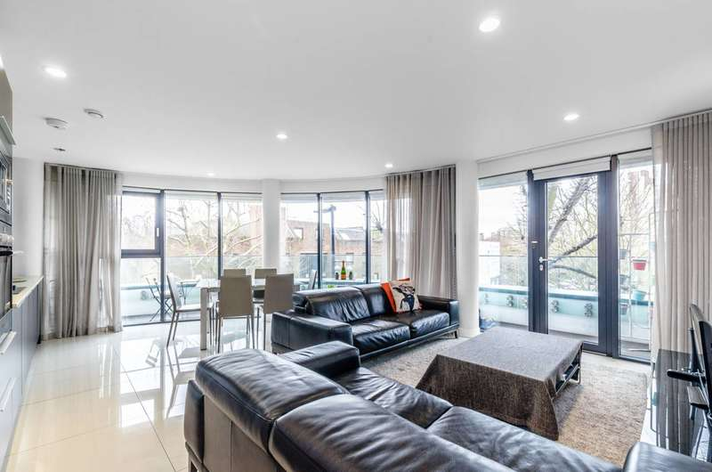 2 Bedrooms Flat for sale in Prince of Wales Road, Kentish Town, NW5