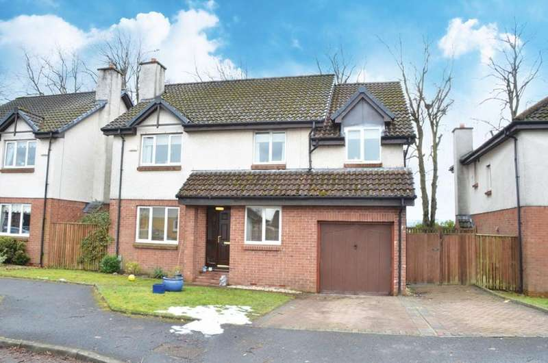 5 Bedrooms Detached House for sale in 65 Ellon Way, Paisley, PA3 4BW