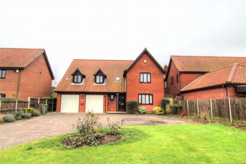 4 Bedrooms Detached House for sale in 20 Norwich Road NR17 2JX, ATTLEBOROUGH, ATTLEBOROUGH, Norfolk