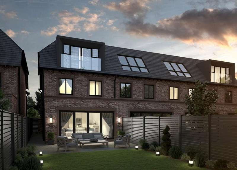4 Bedrooms Mews House for sale in Pavilion Gardens, Moor Lane, Wilmslow