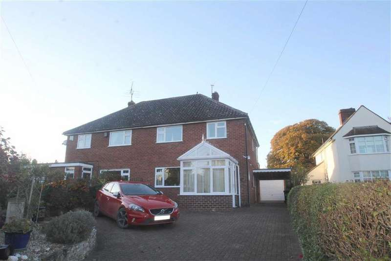 3 Bedrooms Semi Detached House for sale in Longden Road, Shrewsbury