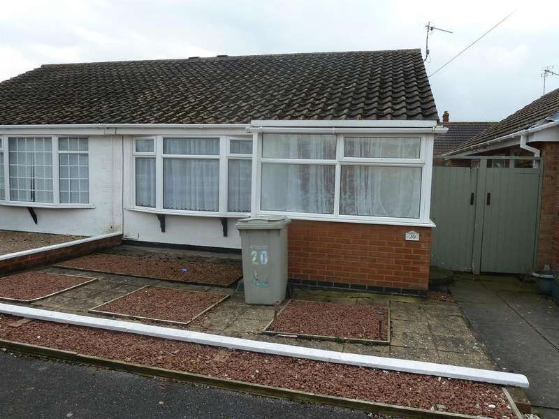 2 Bedrooms Semi Detached Bungalow for rent in Camelot Court, Alford Road, Sutton-on-Sea,