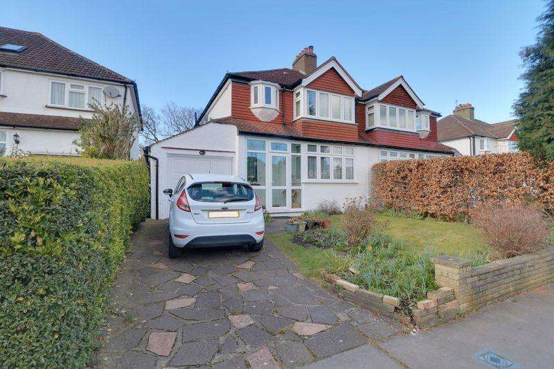 3 Bedrooms Semi Detached House for sale in Mount Park Avenue, South Croydon