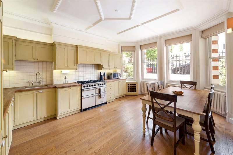 3 Bedrooms Flat for sale in Cheniston Gardens, London
