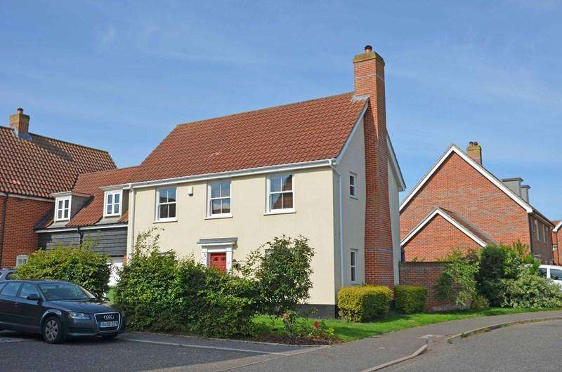 4 Bedrooms Detached House for sale in Sowdlefield Walk, Mulbarton, Norwich
