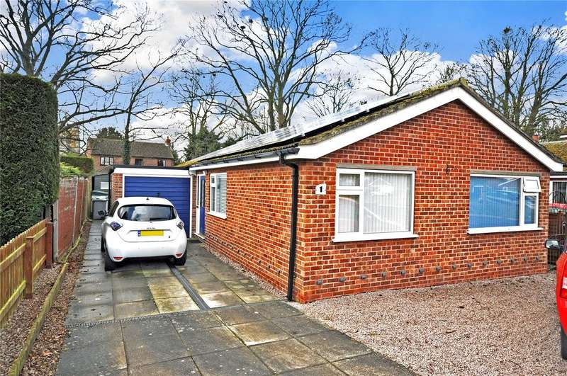 3 Bedrooms Detached Bungalow for sale in Whattons Close, Sedgebrook, Grantham