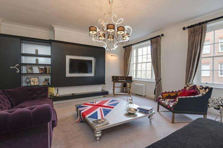 3 Bedrooms Flat for sale in Eyre Court, Finchley Road, NW8, NW8