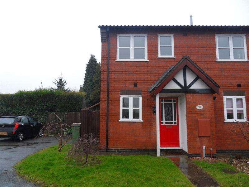 2 Bedrooms Semi Detached House for sale in Glen Way, Coalville