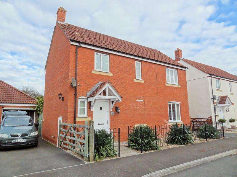 3 Bedrooms Detached House for sale in Moravia Close, Bridgwater
