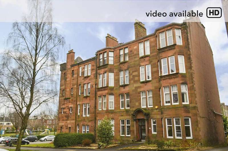 1 Bedroom Flat for sale in Edgehill Road, Flat 2/2, Broomhill, Glasgow, G11 7JB
