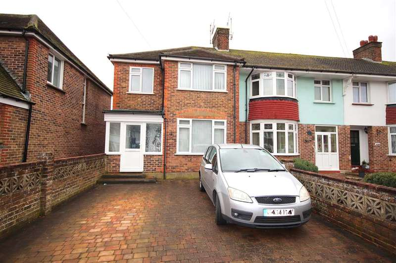 4 Bedrooms End Of Terrace House for sale in Shandon Road, Worthing