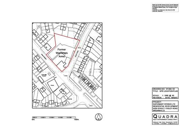 Land Commercial for sale in Former Warreners Arms, High Street / Ogley Road, Brownhills