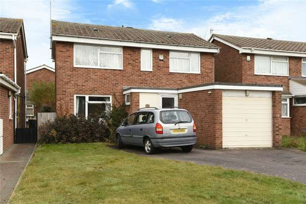 4 Bedrooms Detached House for sale in Dawlish Drive, Bedford