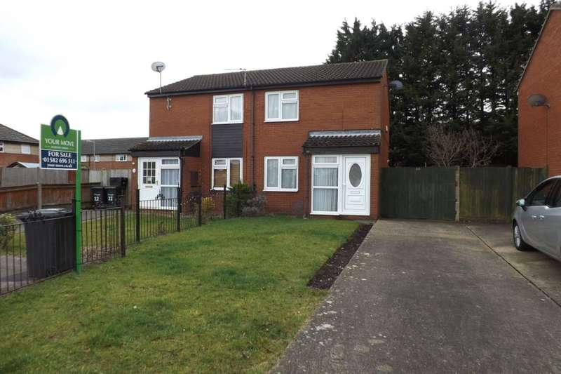 2 Bedrooms Semi Detached House for sale in Finch Close, Luton, LU4