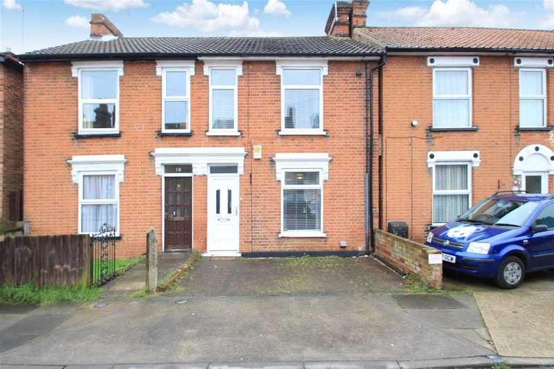 2 Bedrooms Semi Detached House for sale in Phoenix Road, East Ipswich, Ipswich