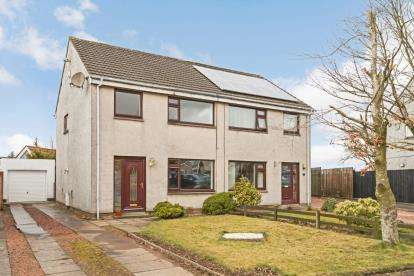 3 Bedrooms Semi Detached House for sale in Carmel Place, Kilmaurs