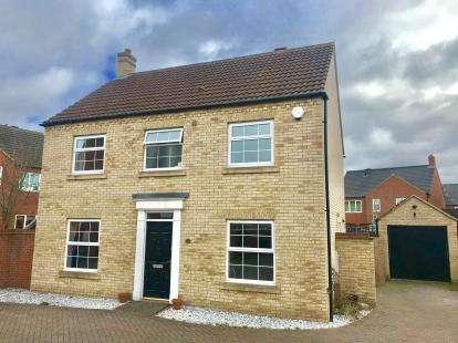 4 Bedrooms Detached House for sale in Bevington Way, Eynesbury, St. Neots, Cambridgeshire