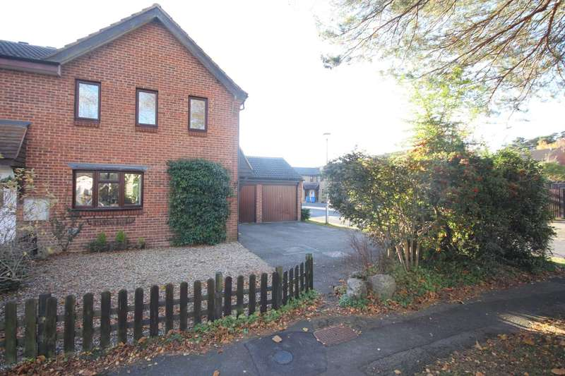 3 Bedrooms End Of Terrace House for sale in Chisbury Close, Bracknell