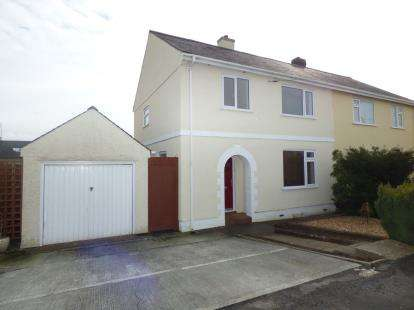 4 Bedrooms Semi Detached House for sale in Lon Ganol, Menai Bridge, Anglesey, LL59
