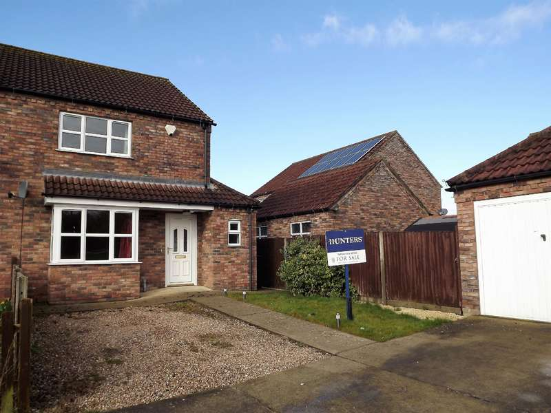 3 Bedrooms Semi Detached House for sale in Church Lane, Timberland, Lincoln, LN4 3SB