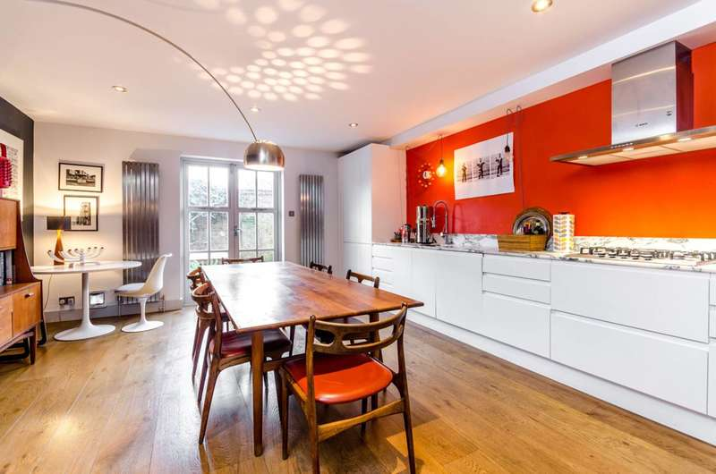 3 Bedrooms House for sale in Priory Grove School, Stockwell, SW8