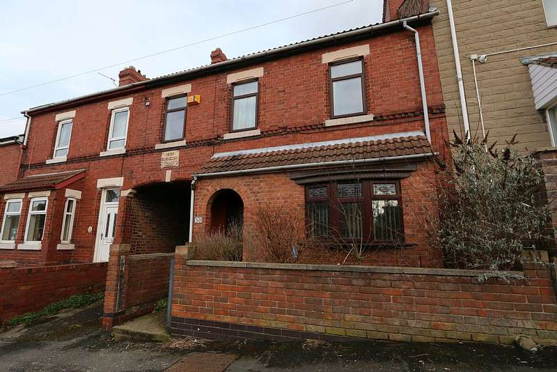 3 Bedrooms Terraced House for sale in Highfield Road, Conisbrough, Doncaster, London, DN12 2DE