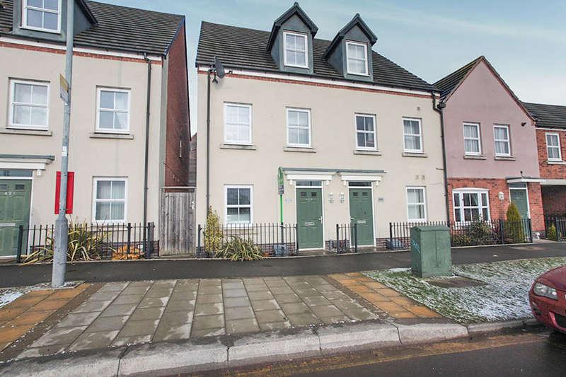 4 Bedrooms Semi Detached House for sale in Queen Elizabeth Road, Nuneaton, CV10