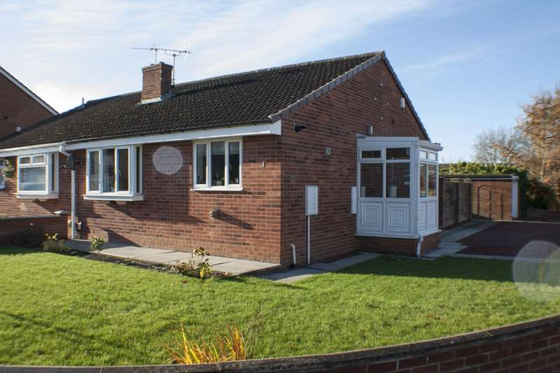 2 Bedrooms Bungalow for sale in Speedwell Close, Darlington, County Durham, DL1
