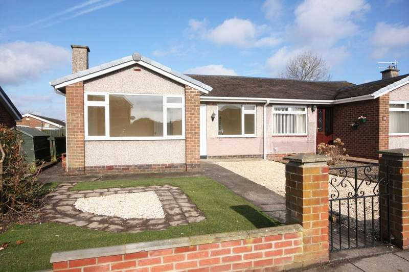2 Bedrooms Semi Detached Bungalow for sale in Garsdale, Vigo, Birtley, Chester-le-Street DH3 2EZ