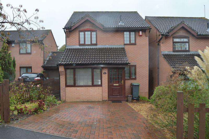 3 Bedrooms Detached House for sale in Knightswell Close, The Sanctuary, Culverhouse Cross, Cardiff