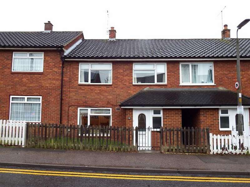 3 Bedrooms Terraced House for sale in Penn Road, Stevenage, Hertfordshire, SG1