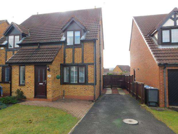 2 Bedrooms Semi Detached House for sale in HADLEIGH COURT, COXHOE, DURHAM CITY : VILLAGES EAST OF