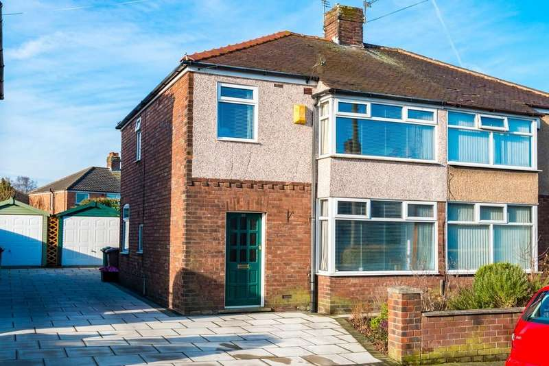 3 Bedrooms Semi Detached House for sale in Olga Road, Sherdley Park , St. Helens