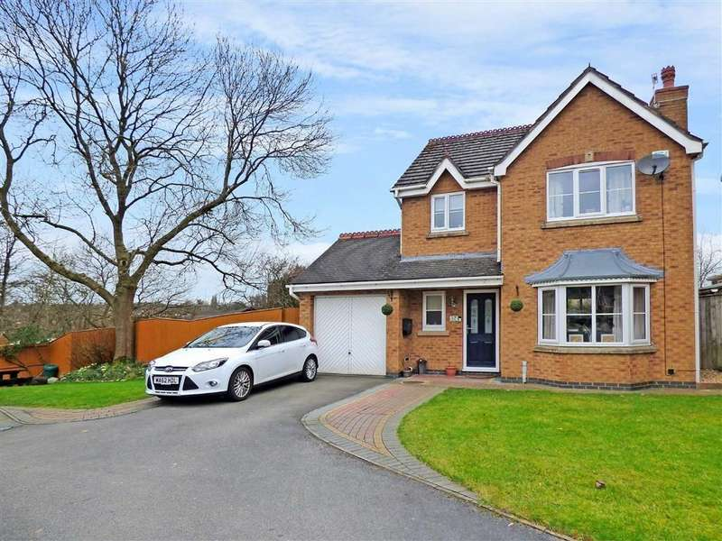 3 Bedrooms Detached House for sale in Welsh Close, Lightwood, Stoke-on-Trent