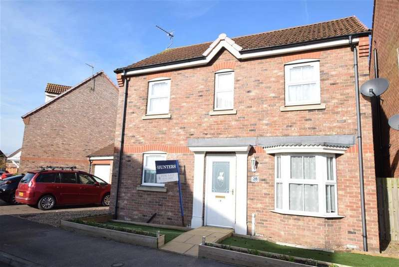 4 Bedrooms Detached House for sale in Kingfisher Way, Scunthorpe, DN16 3WS