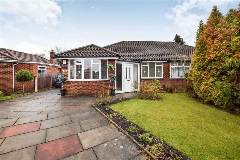 3 Bedrooms Semi Detached Bungalow for sale in Haydock Drive, Timperley, Cheshire, WA15