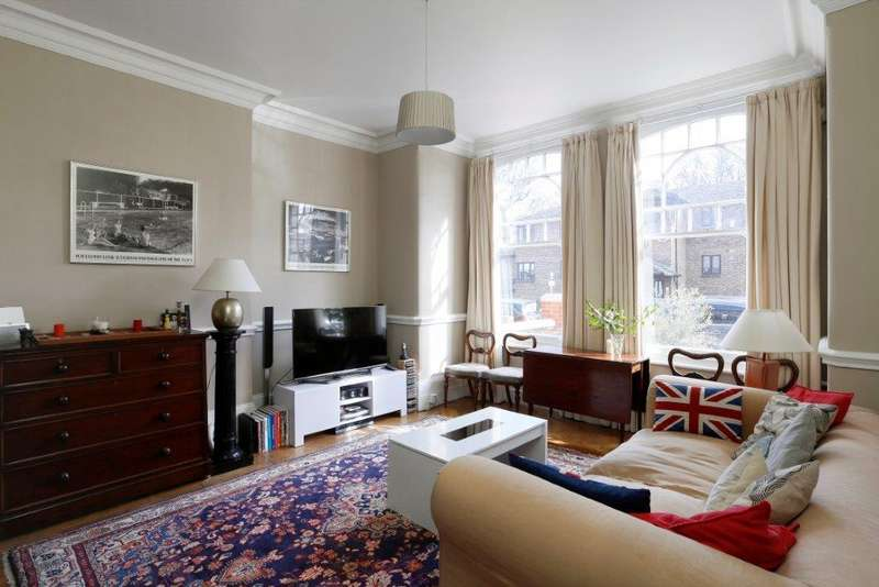 2 Bedrooms Flat for sale in Hillbury Road, London SW17