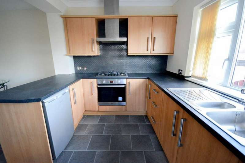 2 Bedrooms Semi Detached House for rent in Smalldale Road, Sheffield, S12