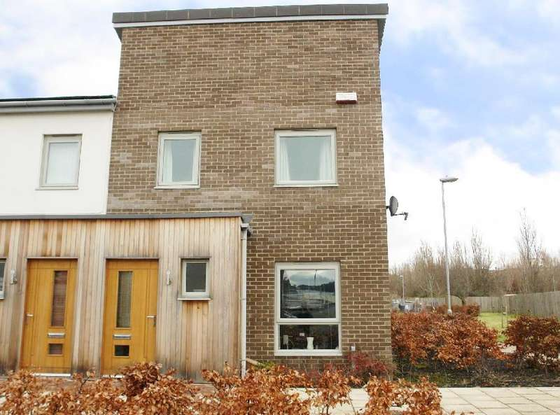 3 Bedrooms End Of Terrace House for sale in July Courtyard, The Staithes, Gateshead