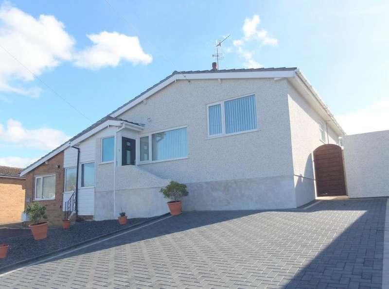 2 Bedrooms Semi Detached House for sale in Tal Y Fan, Glan Conwy, Colwyn Bay