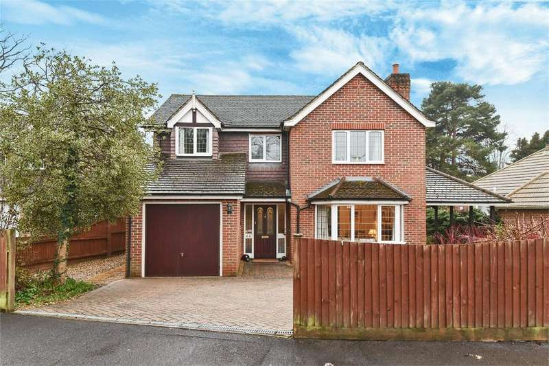 4 Bedrooms Detached House for sale in Merdon Avenue, Hiltingbury, Hampshire