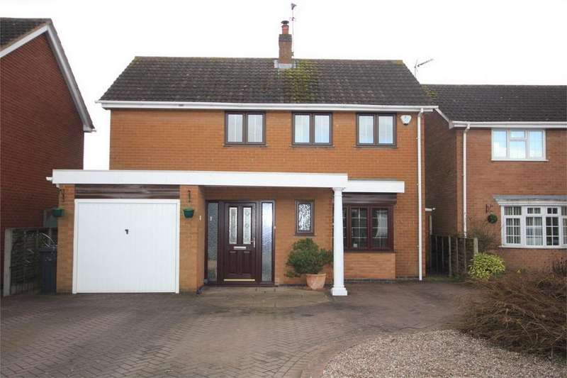 3 Bedrooms Detached House for sale in Callendar Close, St Nicolas Park, Nuneaton, Warwickshire