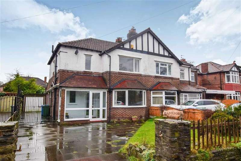 3 Bedrooms Semi Detached House for sale in Moss Lane, Timperley, Cheshire, WA15